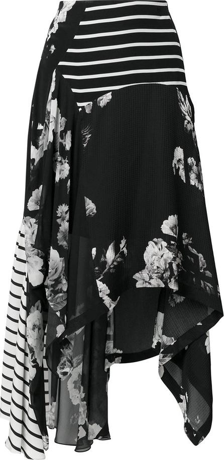 Preen Contrast panel skirt