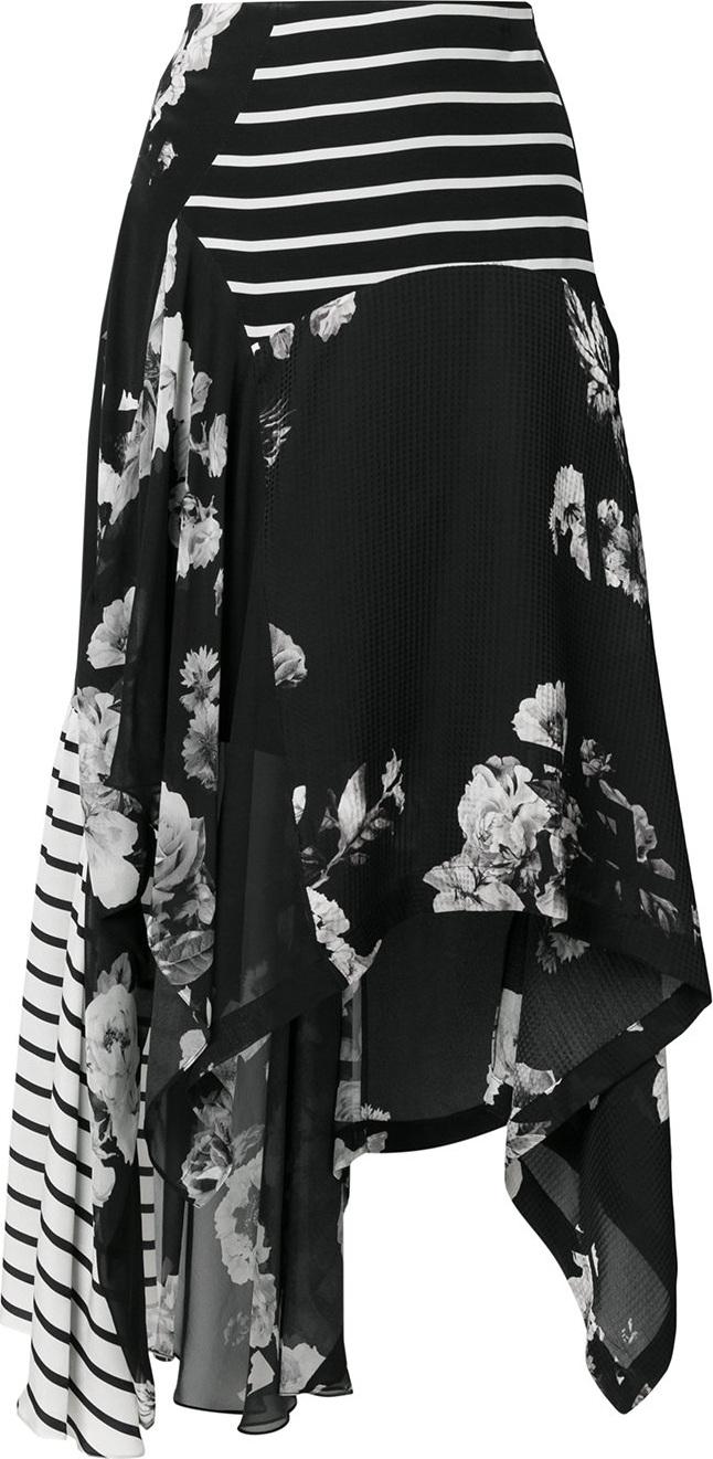 Preen - Contrast panel skirt