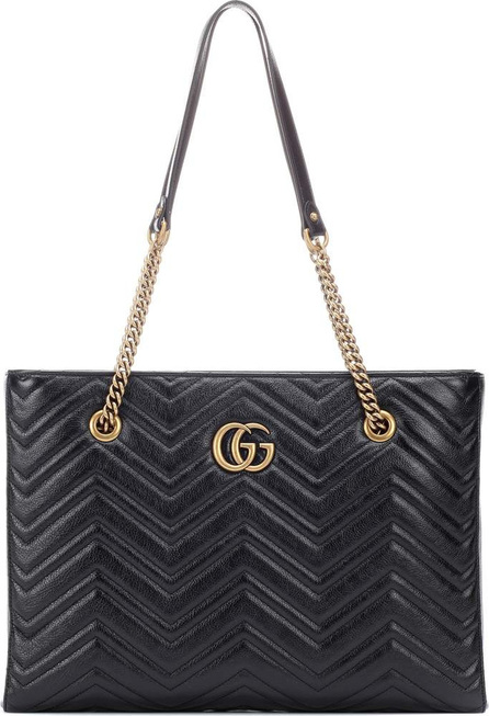 Gucci GG Marmont Medium leather tote