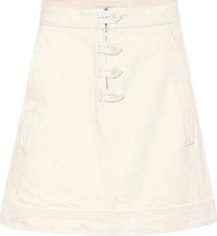 Ganni Bluebell denim skirt