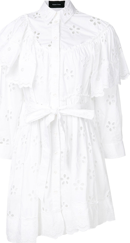 Simone Rocha Cut-out detail shirt dress