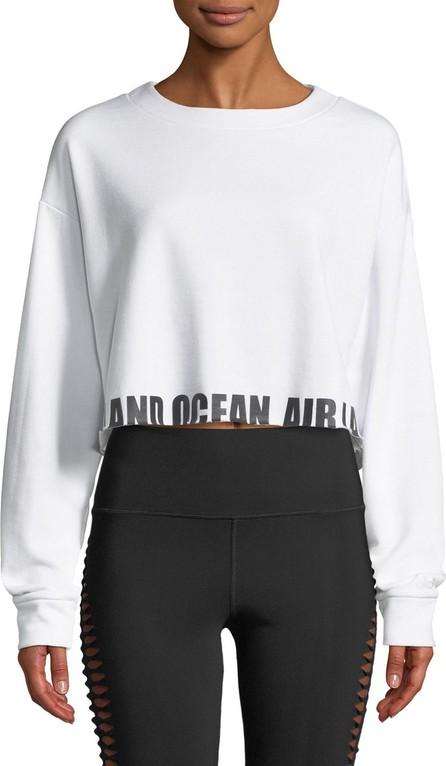 Alo Yoga Air Land Ocean Crewneck Pullover Sweatshirt