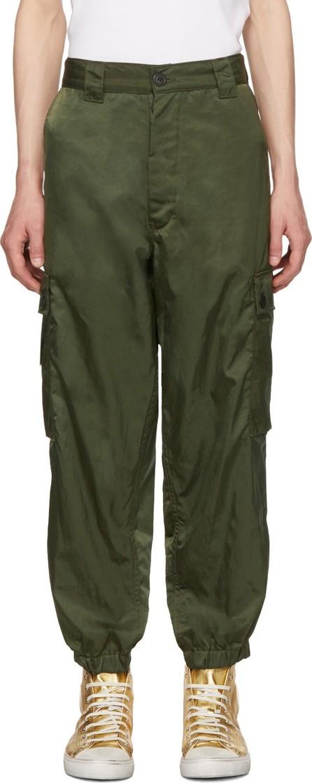 Enfants Riches Deprimes Green Logo Cargo Pants