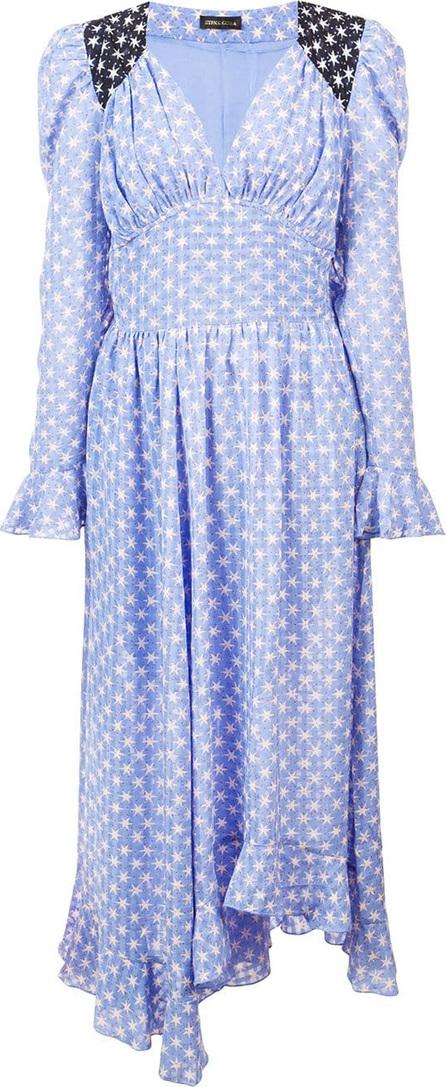 Stine Goya Asymmetric print dress