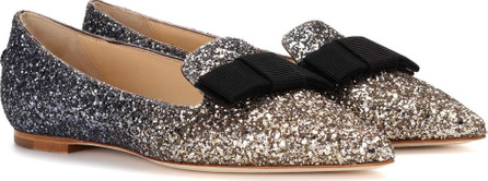 Jimmy Choo Exclusive to mytheresa – Gala glitter ballerinas