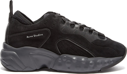 Acne Studios Manhattan suede low-top trainers