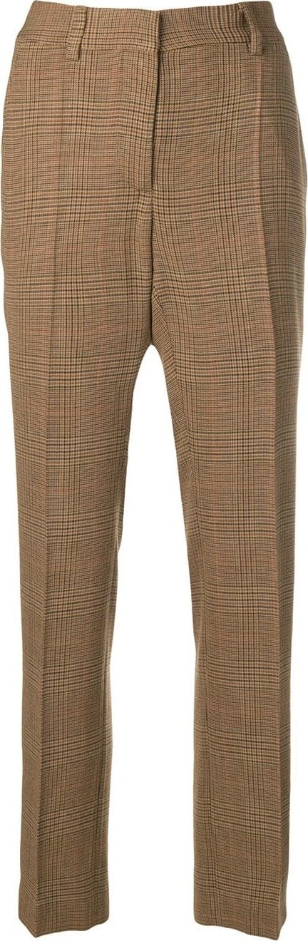 Off White Plaid trousers