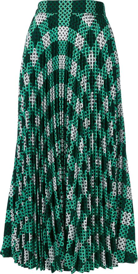 Mary Katrantzou Hama bead pleated skirt