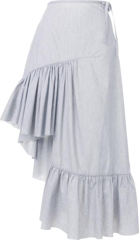 Marques'Almeida Ruffled asymmetric skirt