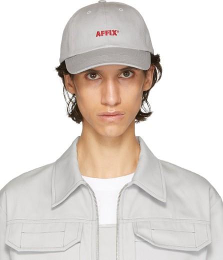 Affix Grey Contrast Logo Cap