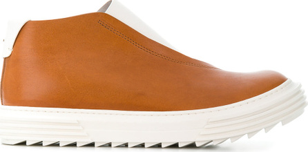 Artselab Chunky sole high-top sneakers