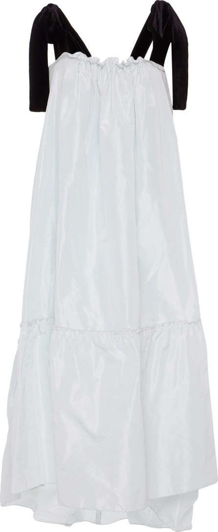 Amelia Toro Silk Taffeta Midi Dress