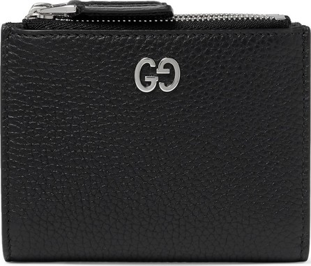 Gucci Dorian Full-Grain Leather Billfold Wallet