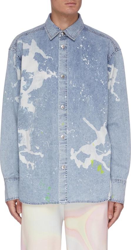Angel Chen Paint Splash Denim Shirt