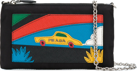 Prada Car patch clutch