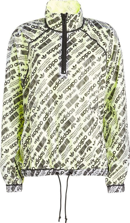 Adidas Originals by Alexander Wang Printed Parka with Mesh