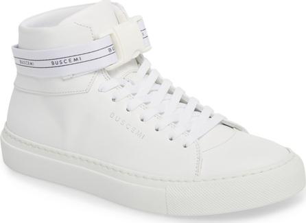 Buscemi Logo Strap High Top Sneaker