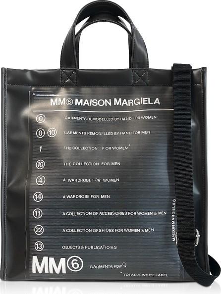 MM6 Maison Margiela Black New Shopping Backpack