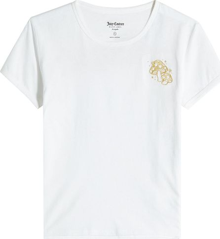 Juicy Couture Cotton T-Shirt with Embroidery