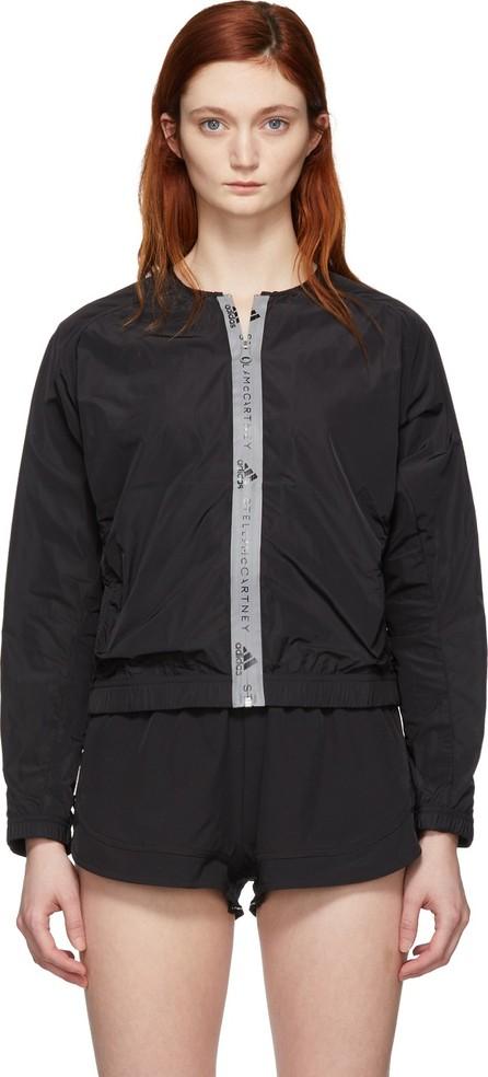 Adidas By Stella McCartney Black Athletics Bomber Jacket