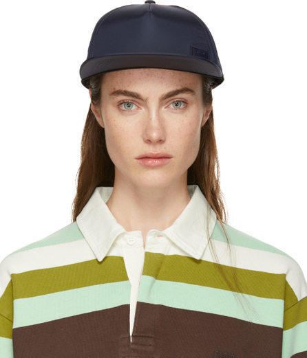 Acne Studios SSENSE Exclusive Navy Covia Face E Cap