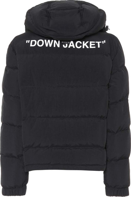 Off White Quilted down jacket