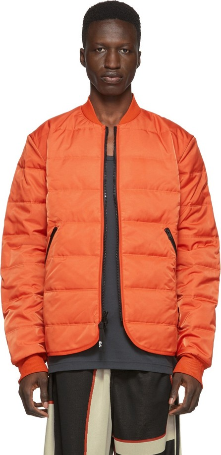 Y-3 Orange Padded Liner Jacket