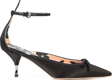 ROCHAS Pointed bow pumps