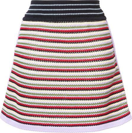 Alexa Chung striped skirt