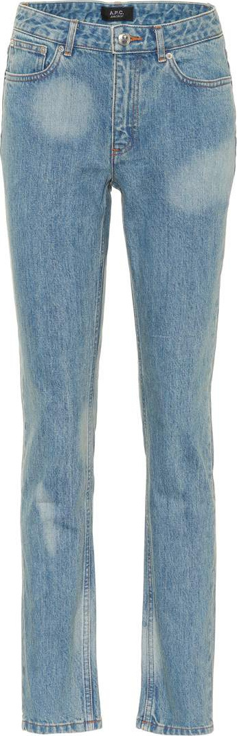 A.P.C. Droit high-waisted jeans
