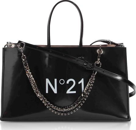N°21 Black Signature E/W Tote Bag