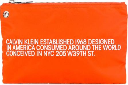 Calvin Klein 205W39NYC Brand Est. clutch