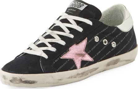 Golden Goose Deluxe Brand Superstar Low-Top Mixed Sneaker