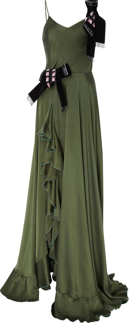 Alcoolique Shila Silk Gown