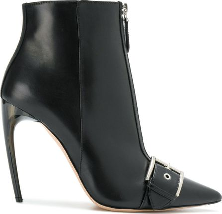 Alexander McQueen pointed toe ankle boots