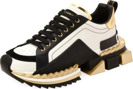 Dolce & Gabbana Men's Super King Running Sneakers