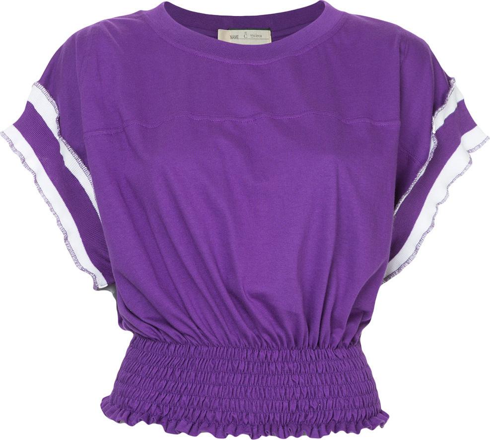 77Circa - Cropped shortsleeved T-shirt