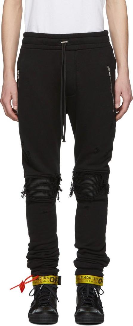 Amiri Black MX1 Moto Lounge Pants