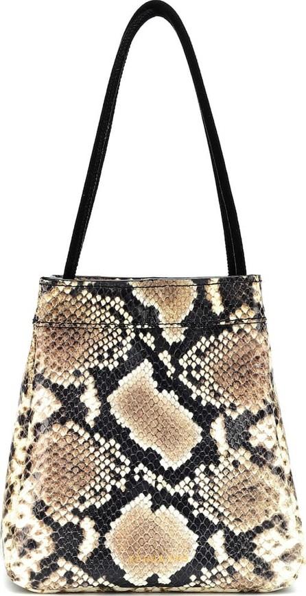 Rejina Pyo Rita snake-printed leather tote