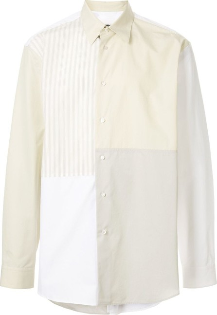 Jil Sander Panelled long-sleeved shirt