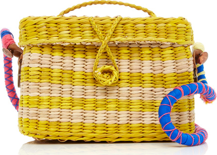 NANNACAY Baby Roge With Pom Pom Woven Strap