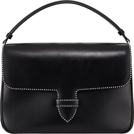 Alaïa Smooth Studded Crossbody Bag