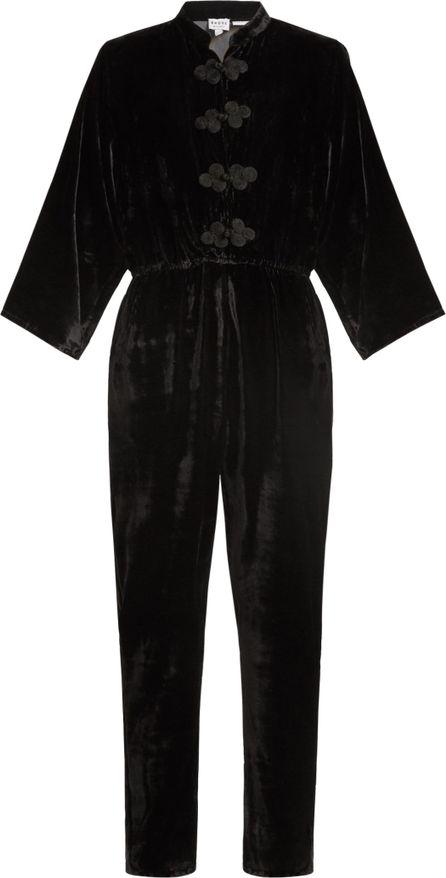 Rhode Resort Stevie tie-waist velvet jumpsuit