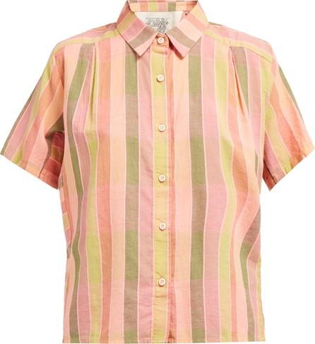 ace&jig Winne striped cotton shirt