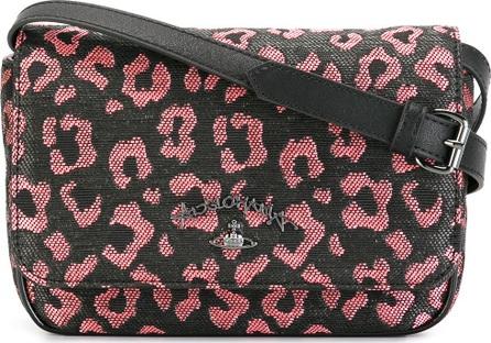 Vivienne Westwood Anglomania leopard print crossbody bag