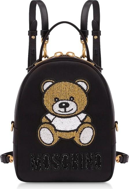 Moschino Black Teddy Bear Chain Backpack