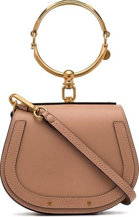 Chloe Biscotti beige Nile Mini Leather Bracelet Bag