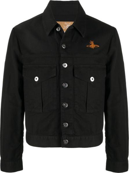 Vivienne Westwood Anglomania Chevron pattern logo jacket