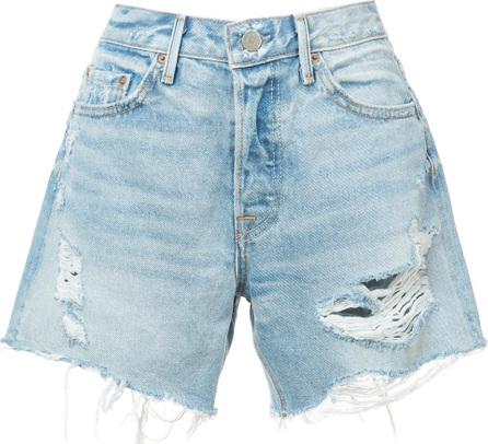 Grlfrnd Distressed effect shorts