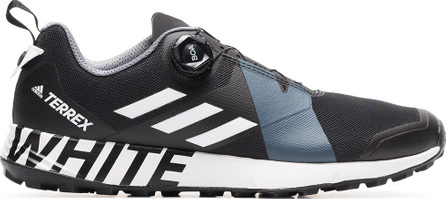Adidas By White Mountaineering Black Terrex Two Boa lace-up sneakers